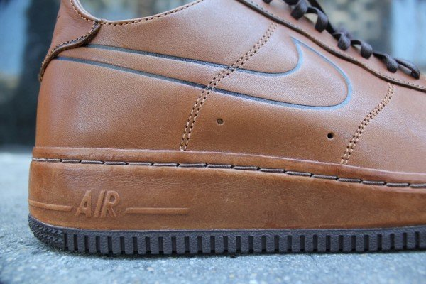 nike air force 1 leather midsole