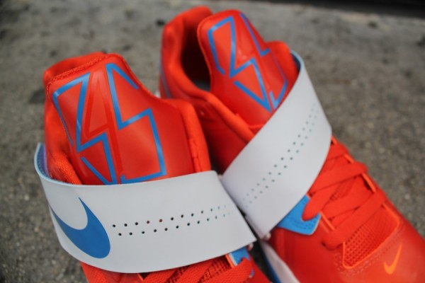 Nike Zoom KD IV 'Team Orange/Photo Blue-White' - Now Available