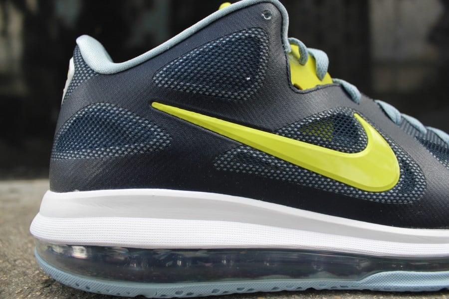 Nike LeBron 9 Low 'Obsidian/Cyber-White-Blue Grey'