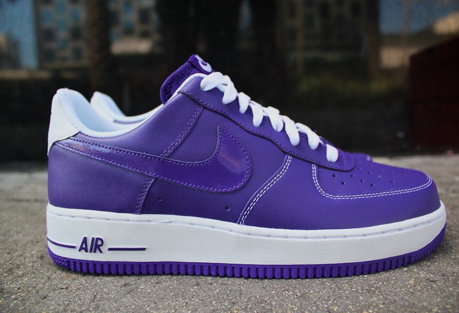 Nike Air Force 1 Low 'Court Purple' - New Images | SneakerFiles