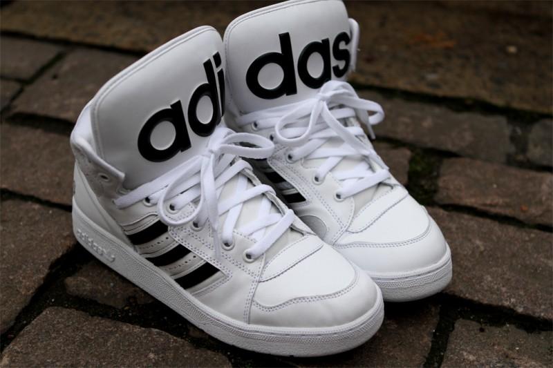 879cd32248e2 Release Reminder  adidas Originals by Jeremy Scott Instinct Hi  White