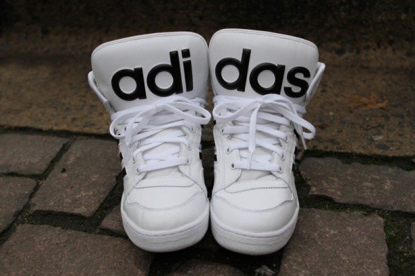 Release Reminder: adidas Originals by Jeremy Scott Instinct Hi 'White'