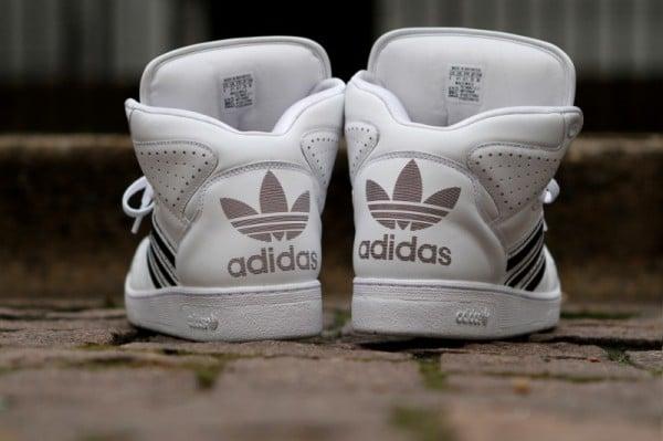 Release Reminder: adidas Originals by Jeremy Scott Instinct Hi 'White'
