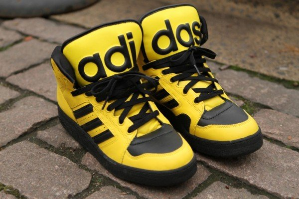 Release Reminder: adidas Originals by Jeremy Scott Instinct Hi 'Yellow'