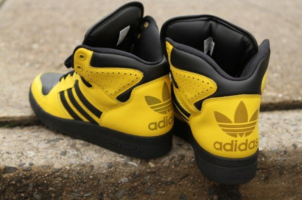 adidas jeremy scott instinct hi yellow