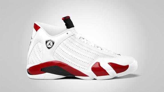 Release Reminder: Air Jordan XIV (14) 'Candy Cane'
