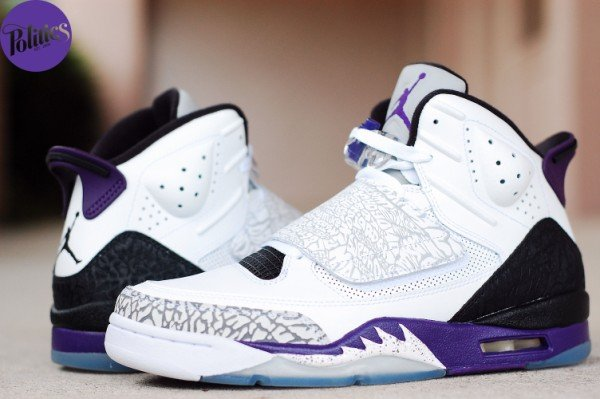 Jordan Son of Mars 'White/Black-Club Purple' - Now Available at Politics