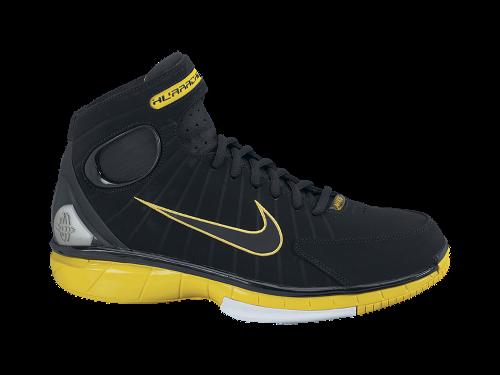 Nike Zoom Huarache 2K4 'Black/Black-Varsity Maize'
