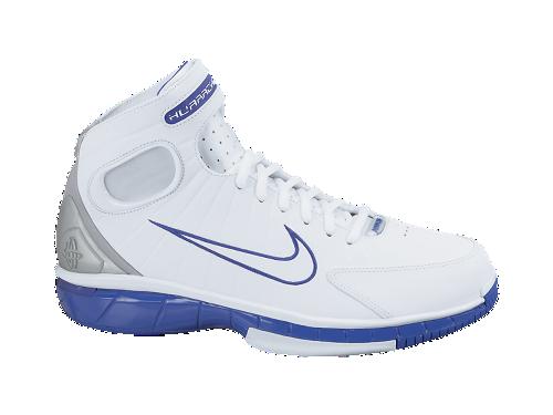Nike Zoom Huarache 2K4 'White/White-Metallic Silver-Pro Purple'