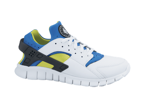 Nike Huarache Free 2012 'White/Soar-Cyber' - Now Available