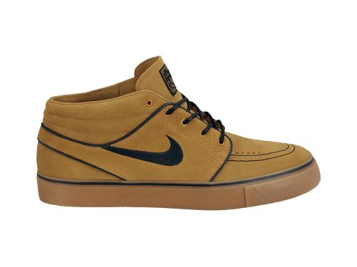 Nike SB Stefan Janoski Mid 'Wheat' - Now Available