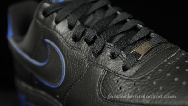 Release Reminder: Nike Air Force 1 Low 'Black/Black-Old Royal'