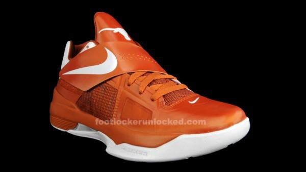 Nike Zoom KD IV 'Texas Longhorns' - Final Look