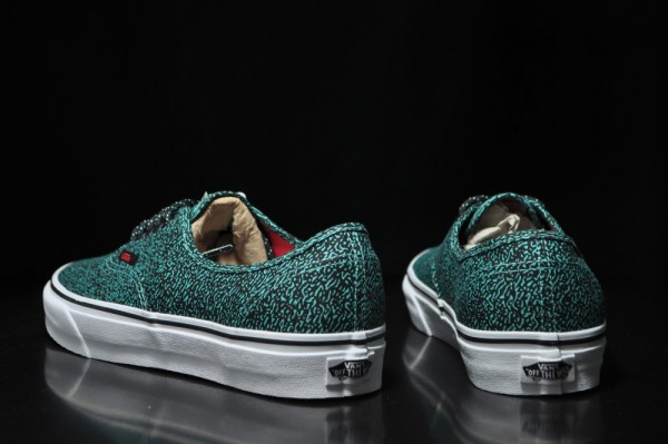 Vans Authentic Speckle 'Green' - Now Available