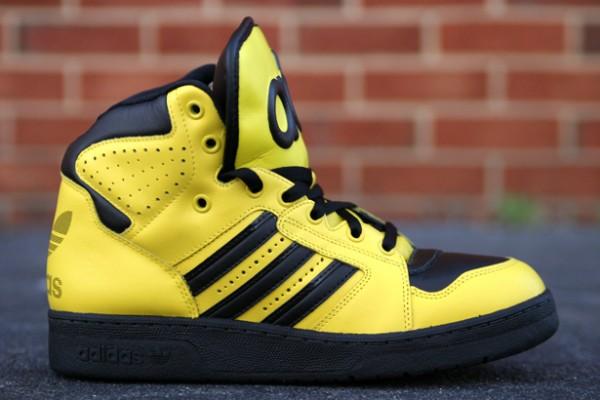 adidas Originals by Jeremy Scott Instinct Hi 'Yellow' - Release Date + Info