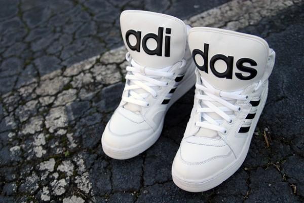 adidas jeremy scott instinct hi black white