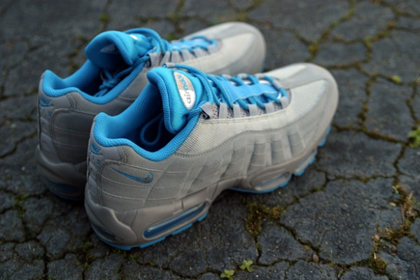 Nike Air Max 95 'Stealth/Neptune Blue' - New Images