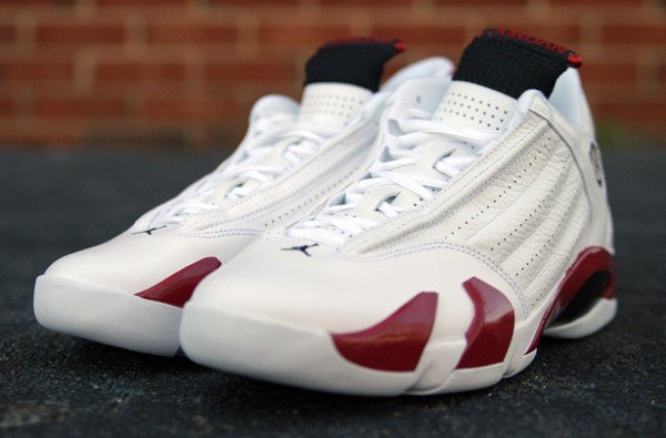 Air Jordan XIV (14) 'White/Varsity Red-Black' - Another Look