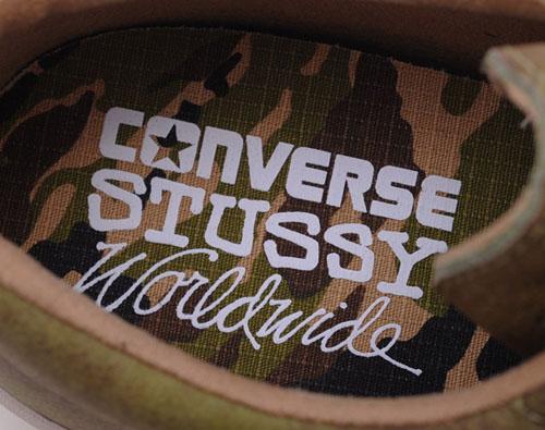 Stussy x Converse Elm