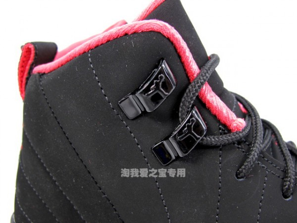5ee431cdf4f589 cheap Air Jordan XII 12 GS Black Siren Red - ramseyequipment.com