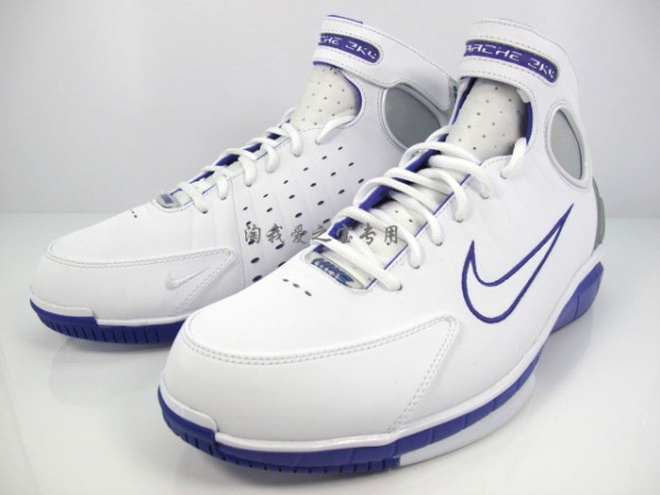 Nike Zoom Huarache 2K4 'White/Club Purple' - Another Look