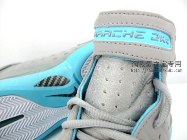 Nike Zoom Huarache 2K4 'Wolf Grey/Tide Pool'