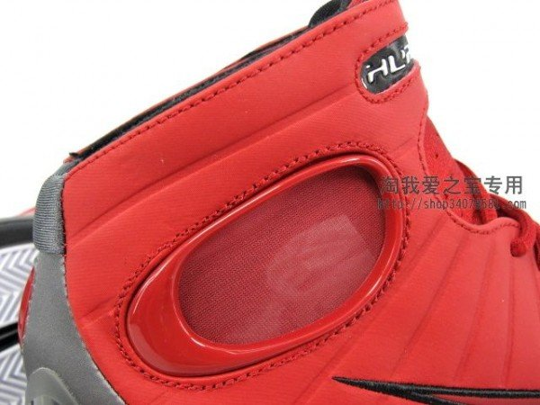 Nike Zoom Huarache 2K4 'Action Red/Dark Grey-Black'