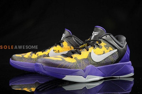 Nike Kobe VII (7) 'Lakers Poison Dart Frog' - New Images