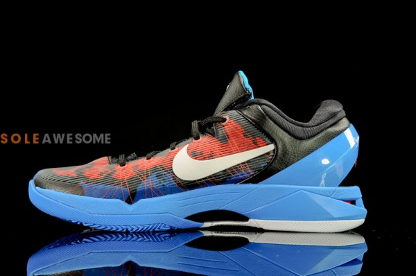 Nike Kobe VII (7) Black/Red-Blue 'Poison Dart Frog' - New Images