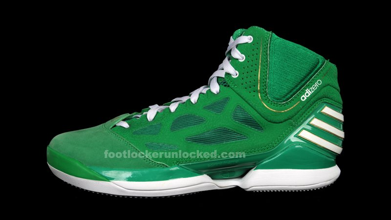 new product a0c52 f25bc adidas adiZero Rose 2 5 St Patricks Day Now Available for Pre Order 70%OFF