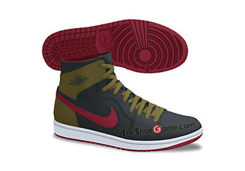 Air Jordan 1 - Holiday 2012