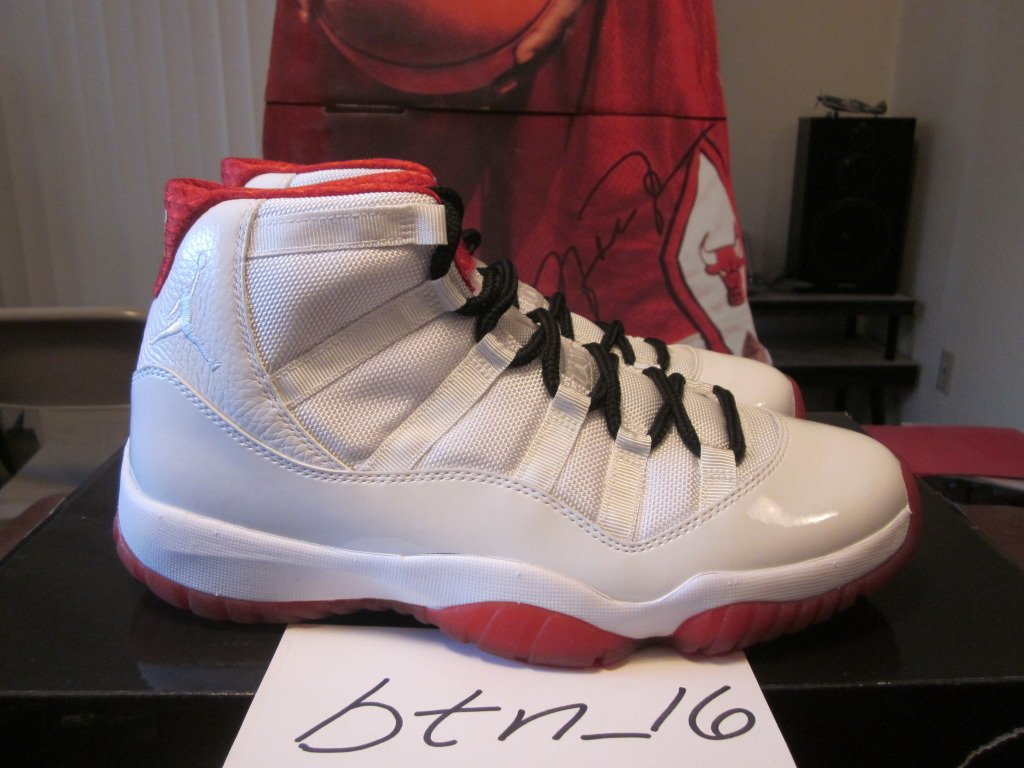 best sneakers c082e b1d12 ... get air jordan xi 11 history of flight sample 34c03 00392