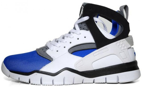 Nike Air Huarache BBall 2012 'White/Black-Soar'