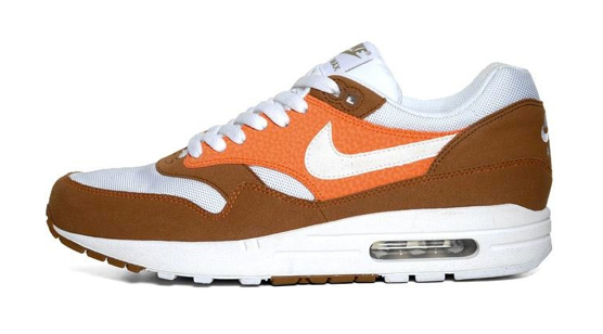 Nike Air Max 1 'Hazelnut/Safety Orange-White'