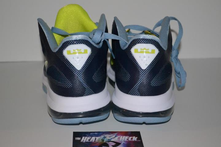 buy online 9be5c d2154 Nike LeBron 9 Low Obsidian Cyber White Blue Grey Another Look outlet