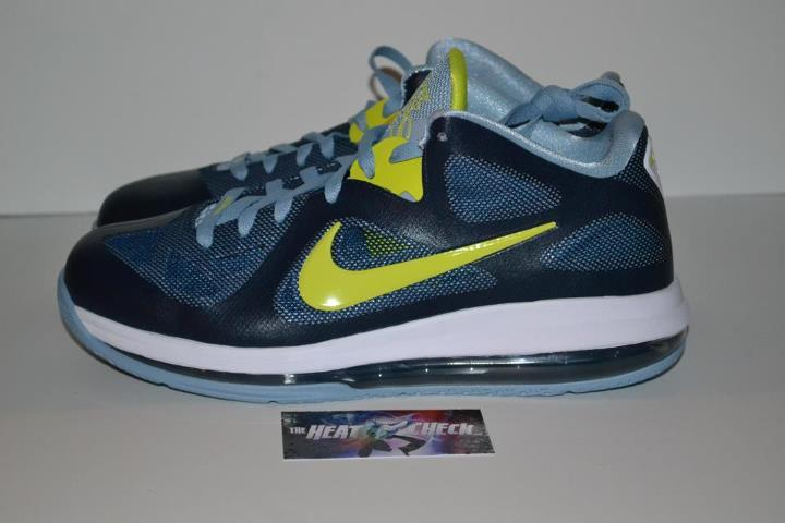 Nike LeBron 9 Low 'Obsidian/Cyber-White-Blue Grey' - Another Look
