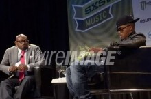 Celebrity Sneaker Watch: Steve Stoute and Nas Rock Heat During Recent Conversation at SXSW