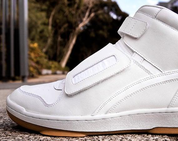 Chapter X Reebok Cl Alien Stomper White Gum Sneakerfiles