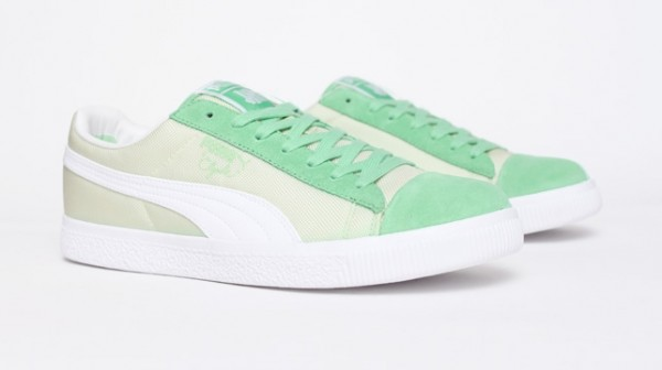 UNDFTD x PUMA Clyde Ballistic 'Green'