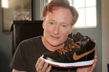 Celebrity Sneaker Watch: Conan O'Brien Excited About His Guinness Kicks