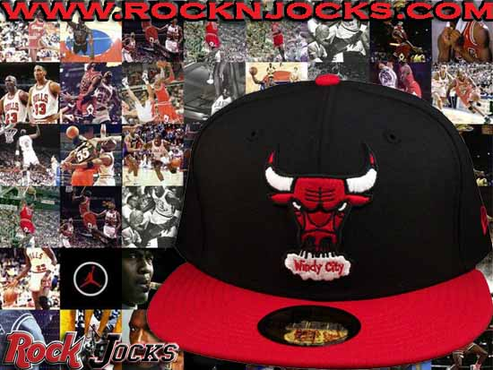 Custom Chicago Bulls 59/50 Fitted @ RocknJocks
