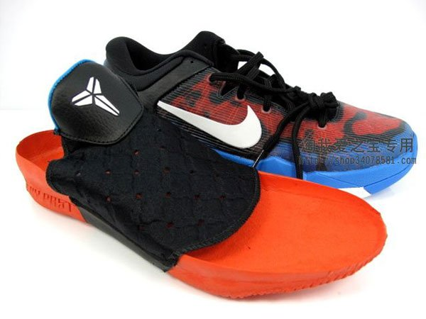Nike Kobe VII (7) Black/Red-Blue 'Poison Dart Frog'