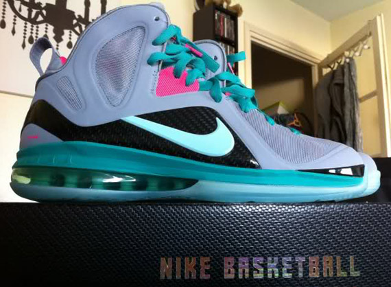 Nike LeBron 9 Elite 'South Beach' - More Images