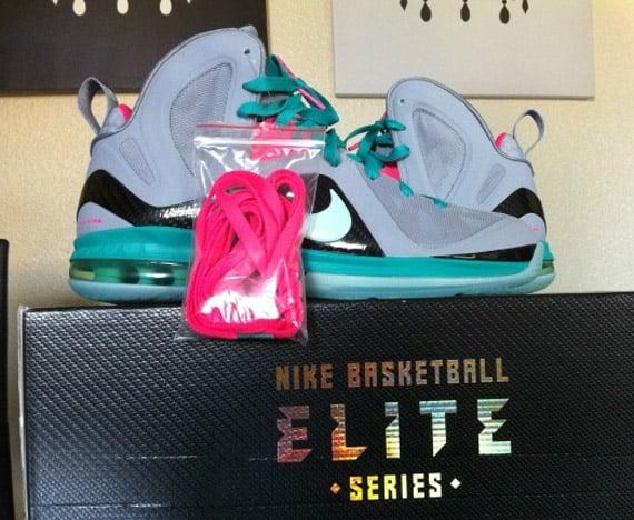 Nike LeBron 9 Elite 'South Beach' - More Images