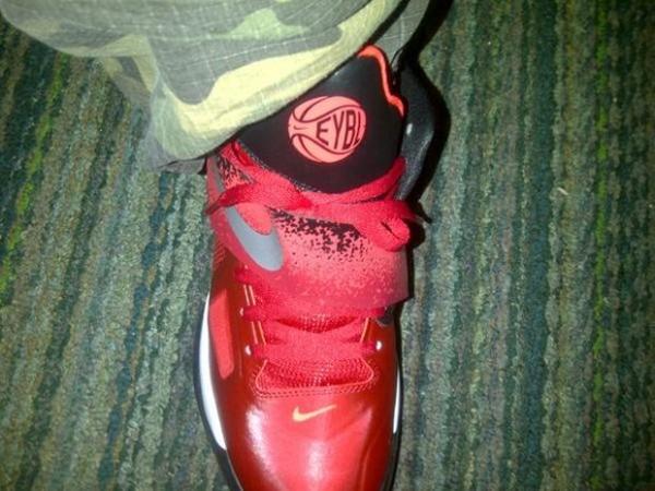 Nike Zoom KD IV Red/Black 'EYBL' PE