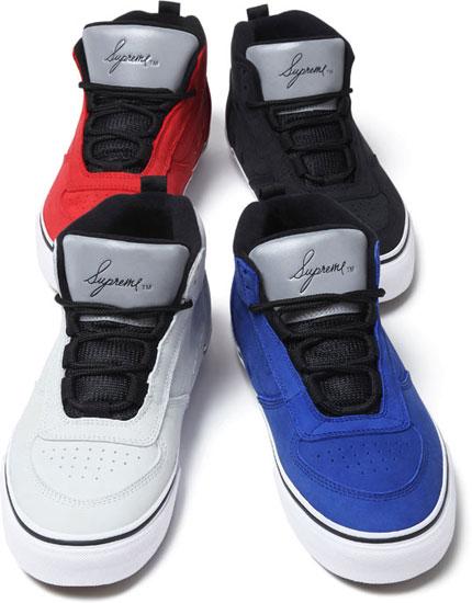 Release Reminder: Supreme x Vans MC Spring 2012 Colorways