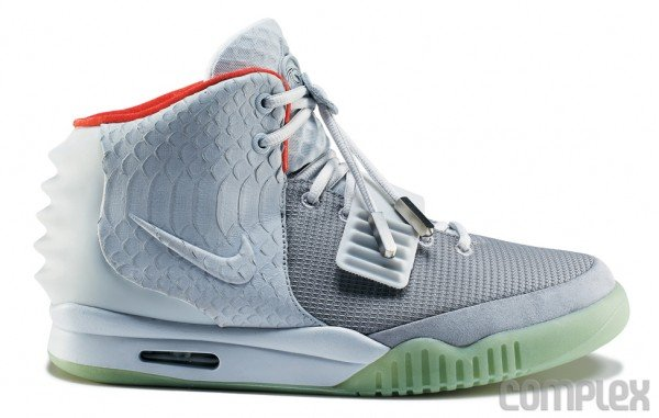 a44df0bf993e1b Nike Air Yeezy 2  Wolf Grey Pure Platinum  - Detailed Images ...