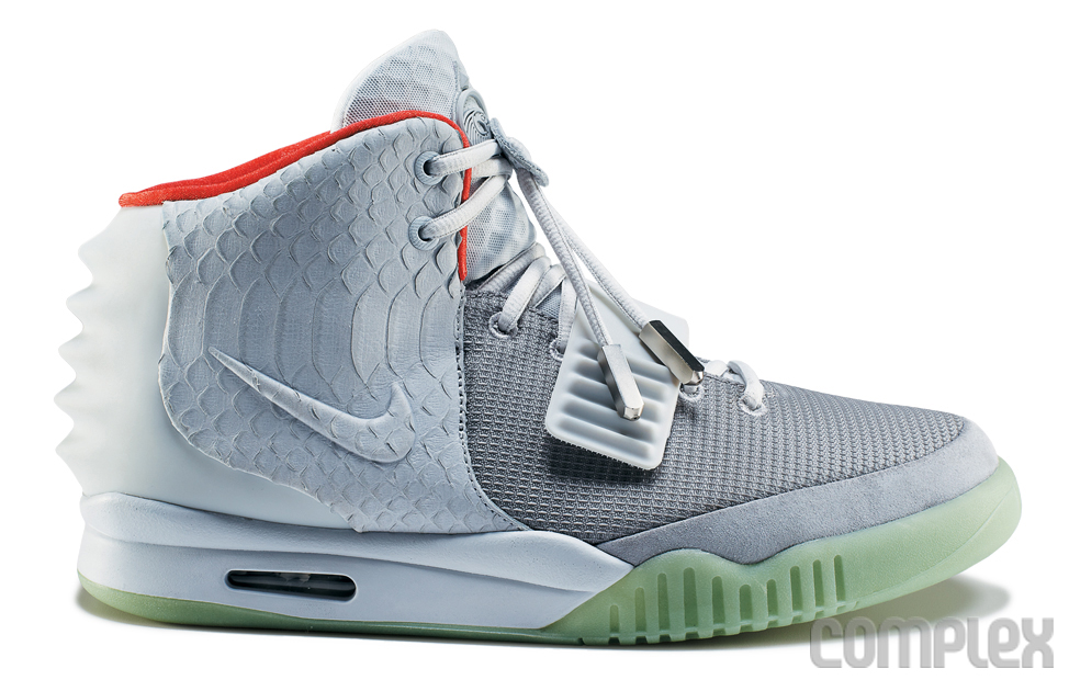 pas mal 00fca c1a0c Nike Air Yeezy 2 'Wolf Grey/Pure Platinum' - Detailed Images ...