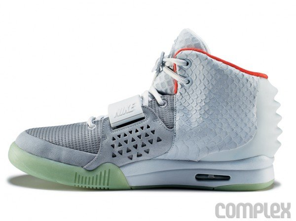 Nike Air Yeezy 2 \u0026#39;Wolf Grey/Pure Platinum\u0026#39; - Detailed Images