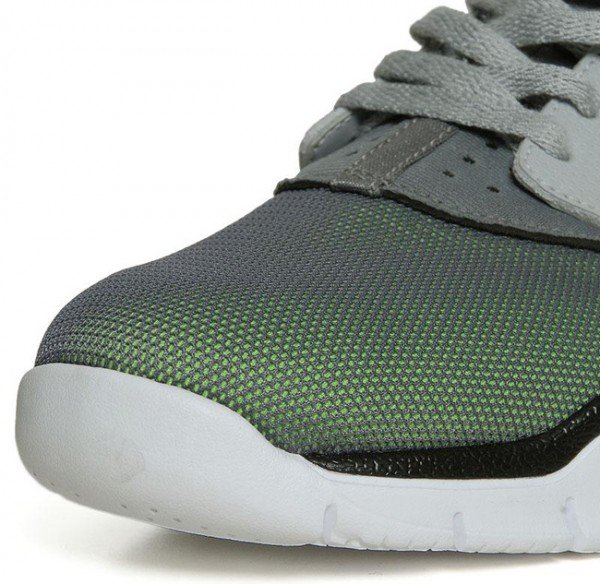 Nike Air Huarache BBall 2012 'Wolf Grey/Action Green'